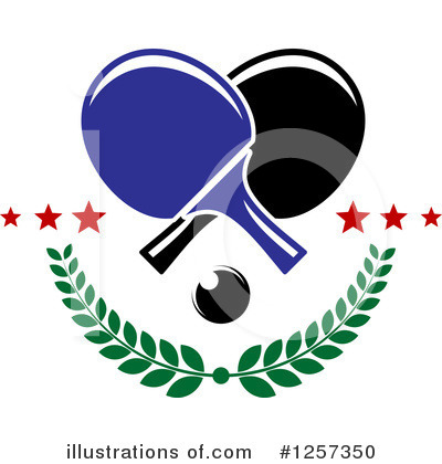 Ping Pong Clipart #1257350 by Vector Tradition SM