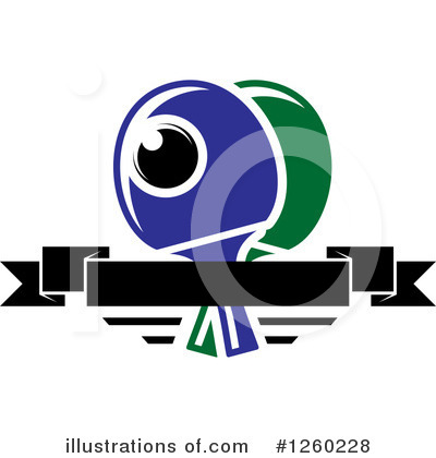Tennis Clipart #1260228 by Vector Tradition SM
