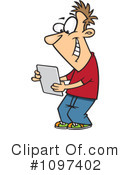 Tablet Clipart #1097402 by toonaday