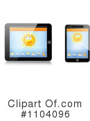 Tablet Clipart #1104096 by Andrei Marincas