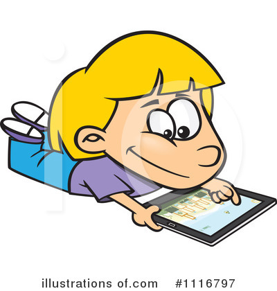 Computer Clipart #1116797 by toonaday