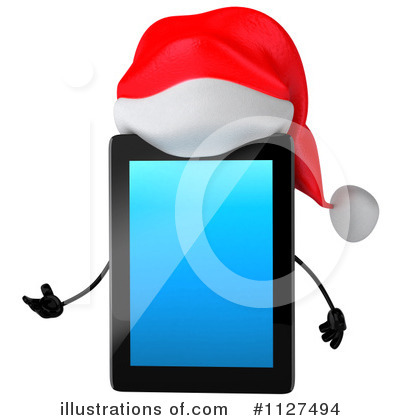 Tablet Clipart #1127494 by Julos