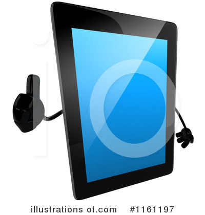 Tablet Clipart #1161197 by Julos