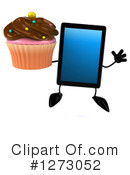 Tablet Computer Character Clipart #1273052 by Julos