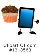 Tablet Computer Character Clipart #1318563 by Julos