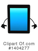 Tablet Computer Character Clipart #1404277 by Julos