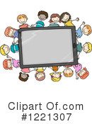 Tablet Computer Clipart #1221307 by BNP Design Studio