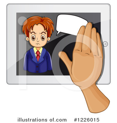 Computer Clipart #1226015 by Graphics RF