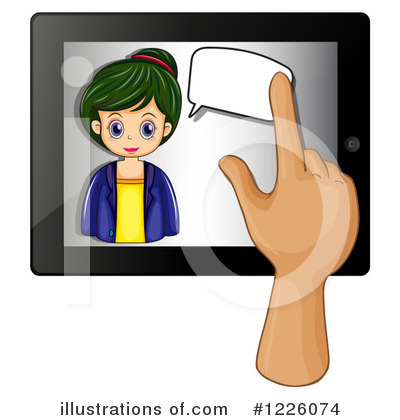 Computer Clipart #1226074 by Graphics RF