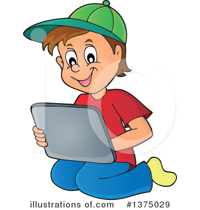 Boy Clipart #1375029 by visekart