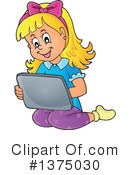 Tablet Computer Clipart #1375030