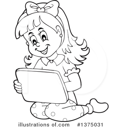 Computer Clipart #1375031 by visekart