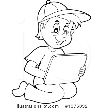 Computer Clipart #1375032 by visekart