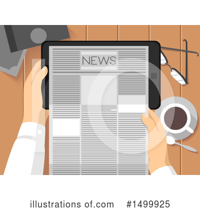 Newspaper Clipart #1499925 by BNP Design Studio