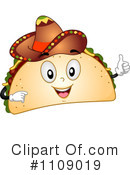 Taco Clipart #1109019 by BNP Design Studio
