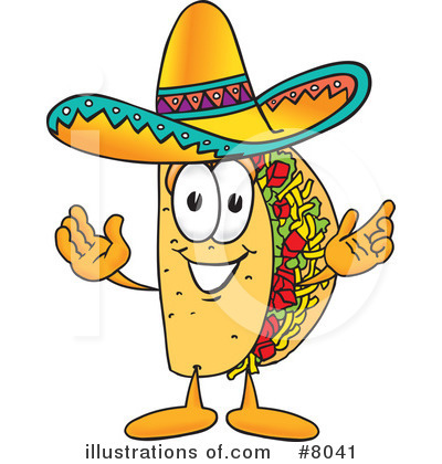 Mexican Clipart #8041 by Toons4Biz