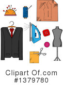 Tailor Clipart #1379780 by Vector Tradition SM
