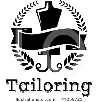 Tailoring Clipart #1258723 by Vector Tradition SM