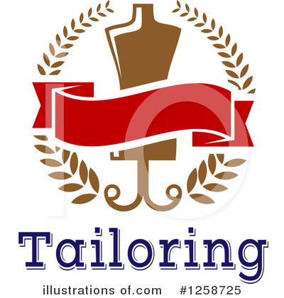 Tailoring Clipart #1258725 by Vector Tradition SM