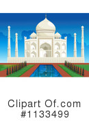 Taj Mahal Clipart #1133499 by Graphics RF