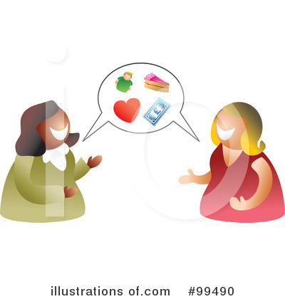 Talking clipart 99490 illustration by prawny for 99490