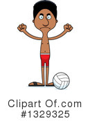 Tall Black Man Clipart #1329325
