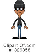 Tall Black Man Clipart #1329358