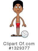 Tall Black Man Clipart #1329377