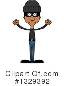 Tall Black Man Clipart #1329392