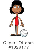 Tall Black Woman Clipart #1329177