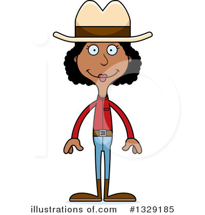 Cowgirl Clipart #1329185 by Cory Thoman