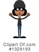 Tall Black Woman Clipart #1329193