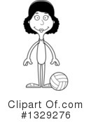Tall Black Woman Clipart #1329276