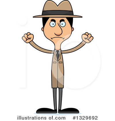 Detective Clipart #1329692 by Cory Thoman