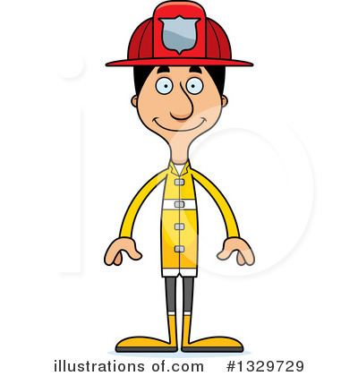 Royalty-Free (RF) Tall Hispanic Man Clipart Illustration by Cory Thoman - Stock Sample #1329729