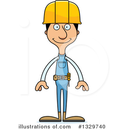 Tall Hispanic Man Clipart #1329740 by Cory Thoman
