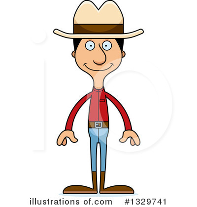 Tall Hispanic Man Clipart #1329741 by Cory Thoman