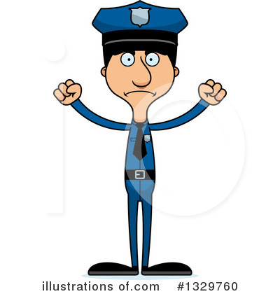Tall Hispanic Man Clipart #1329760 by Cory Thoman