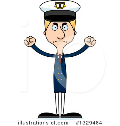 Captain Clipart #1329484 by Cory Thoman