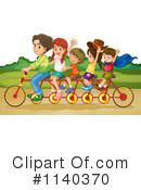 Tandem Bike Clipart #1140370 by Graphics RF