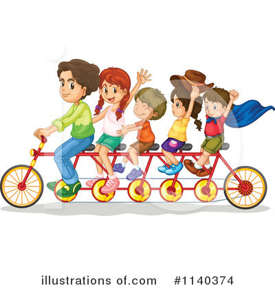 Bicycle Clipart #1140374 by Graphics RF