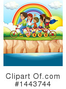 Tandem Bike Clipart #1443744 by Graphics RF