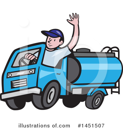 Driving Clipart #1451507 by patrimonio
