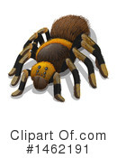 Royalty-Free (RF) Tarantula Clipart Illustration #1462191