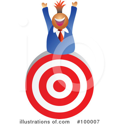 Target Clipart #100007 by Prawny