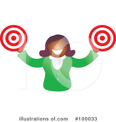 Target Clipart #100033 by Prawny