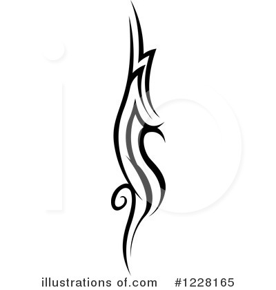 Royalty Free RF Tattoo Clipart Illustration By Dero  Stock Sample