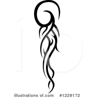 Tattoo Clipart 1228172  Illustration By Dero