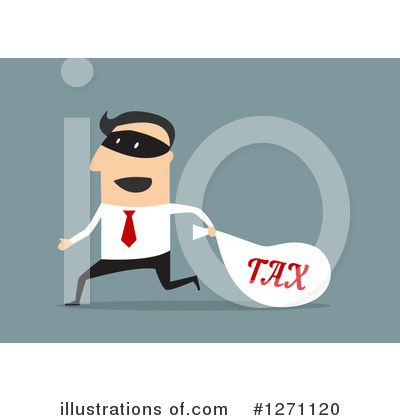 Robber Clipart #1271120 by Vector Tradition SM