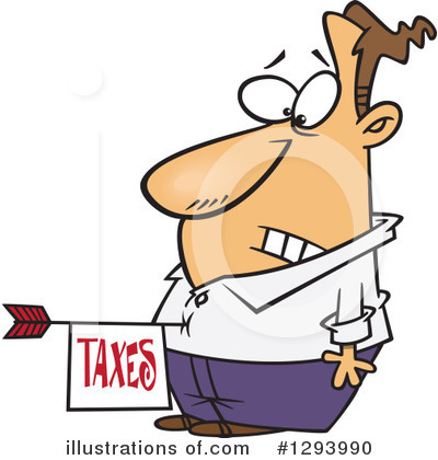 Taxes Clipart #1293990 by toonaday
